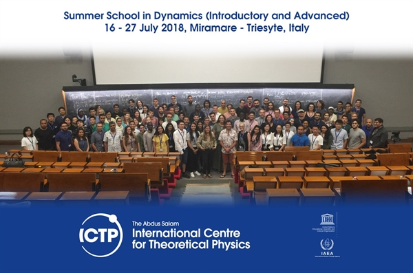 Dr Seyed Alireza Ahmadi Participated in ICTP and CIE