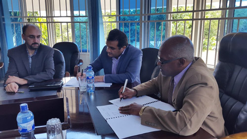 Development of the relations of USB in the form of Scientific Memorandum (MOU) with universities in the East African region
